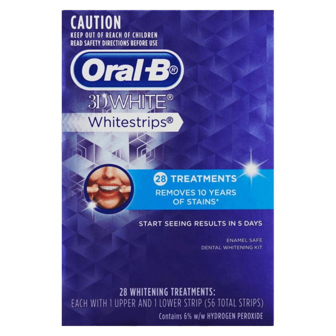 Oral-B 3D White Whitestrips 28 Pack