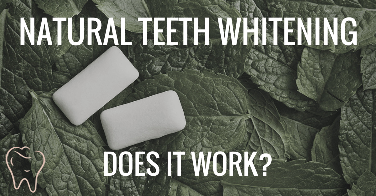 natural teeth whitening cover image