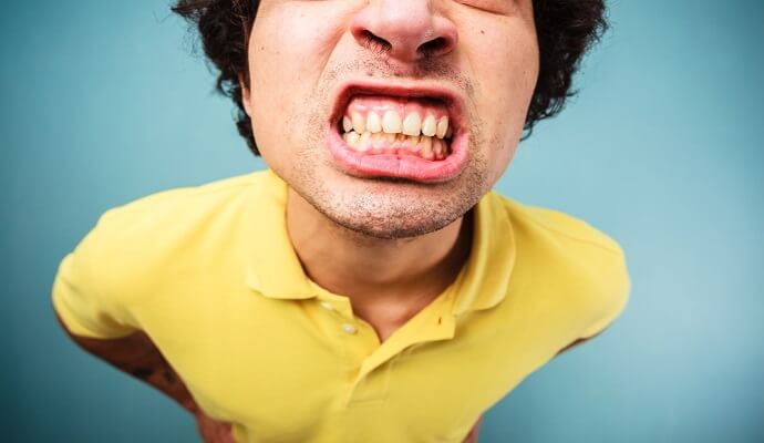 Image result for Quit grinding teeth Yellow Teeth